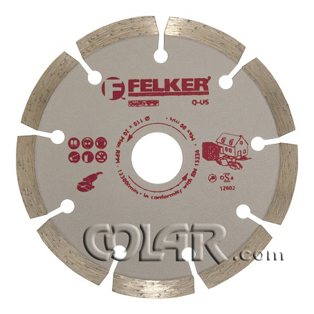 Disco Serra Mármore 110mm Felker Segmentado - HSQ  - COLAR