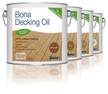Decking Oil Neutro 2,5L - Bona  - COLAR