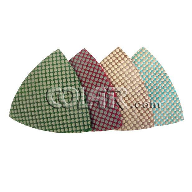 Lixa Triangular Resinada - DM  - COLAR