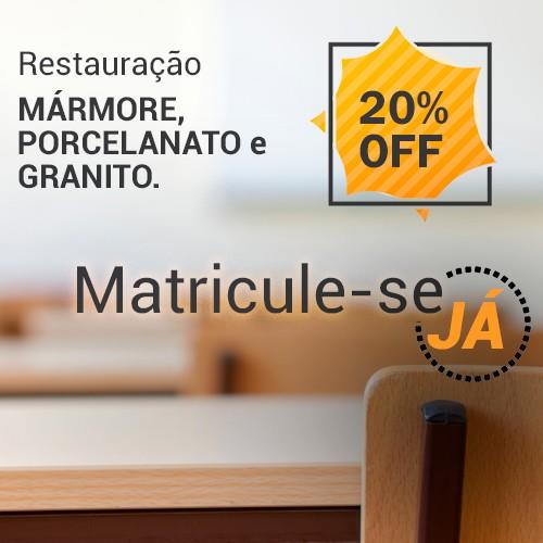 SUPER PROMOÇÃO!!! Curso Restauração de Mármore, Porcelanato e Granito   - COLAR