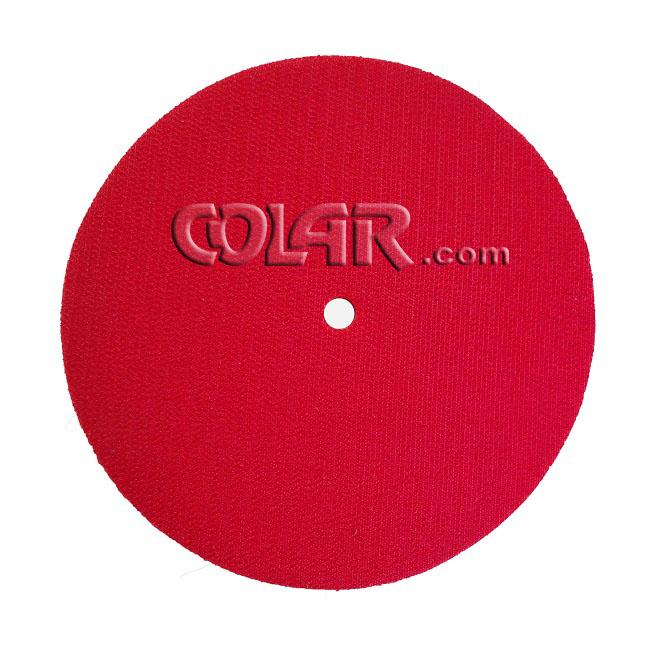 Suporte De Lixa Com Velcro e Espuma 7´´ M14 Vermelho - DM  - COLAR
