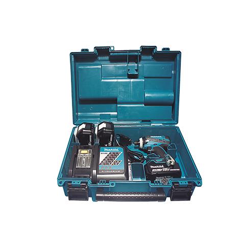 Parafusadeira de Impacto a Bateria DTD146RF3X - Makita  - COLAR