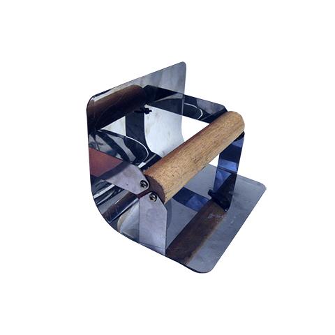 Desempenadeira Redonda Para Rodapé 15cm  - COLAR