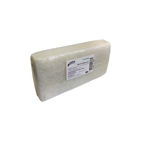 Fibra Tinindo Limpeza Leve Branca Pacote com 5 - 3M  - COLAR