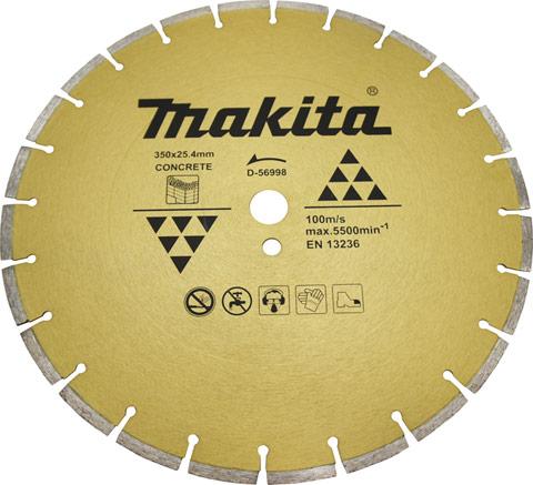 Disco para Cortadora de asfalto e concreto modelo D56998 - MAKITA  - COLAR