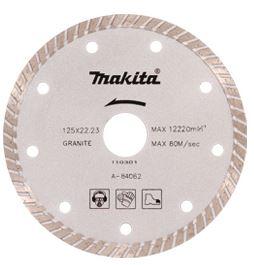 Disco Para Esmerilhadeira Corte Mármore, Granito e Concreto A-84062 - Makita Speed  - COLAR