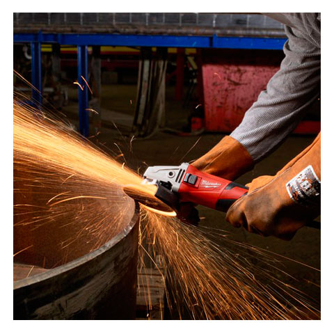 Kit Esmerilhadeira 125mm + Bolsa + Disco Desbaste 617-59P - Milwaukee  - COLAR