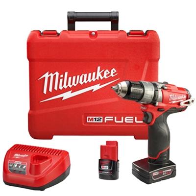 Parafusadeira / Furadeira de Impacto 13mm a Bateria 12 Volts de Íons de Lítio- FUEL™ 2404-259 - Milwaukee  - COLAR
