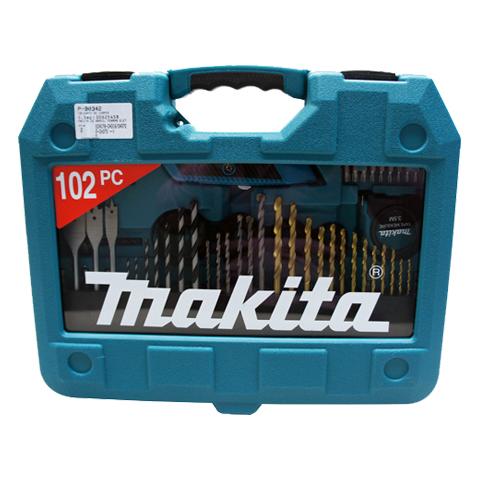 Kit de Ferramentas 102 Peças P-90342 com Maleta - Makita  - COLAR