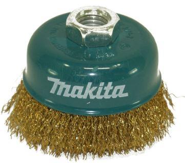 Escova de Aço Tipo Copo Ondulado M14 100mm D55376 - Makita  - COLAR