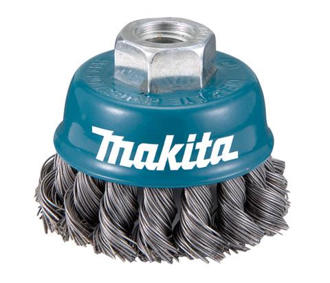 Escova de Aço Tipo copo Torcido M14 100mm D55223 - Makita  - COLAR