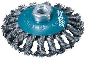 Escova de aço em Disco com Fio Trançado 115mm M14 D55407 - Makita  - COLAR