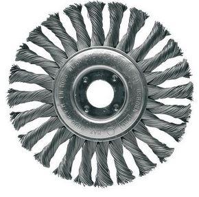 Escova de aço circular trançada 115mm m14 D55251 - Makita   - COLAR