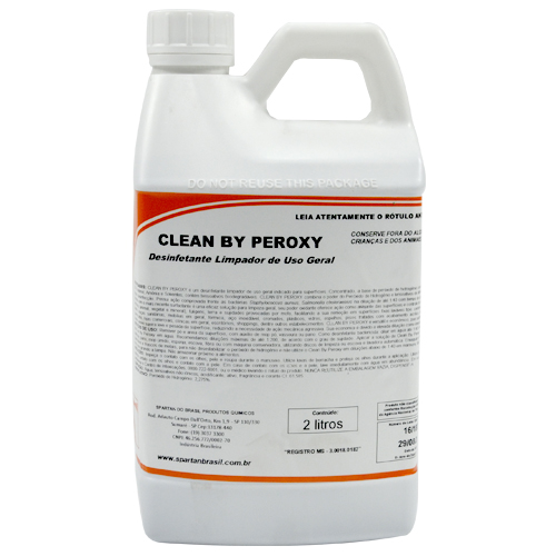 CLEAN BY PEROXY - DESINFETANTE DE USO GERAL - 2 LITROS  - COLAR