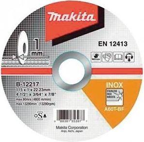 Disco Abrasivo de Corte B1221710 - Makita  - COLAR