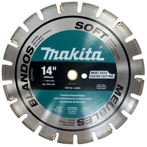 Disco pra Corte de Asfalto e Concreto A94655 - Makita  - COLAR