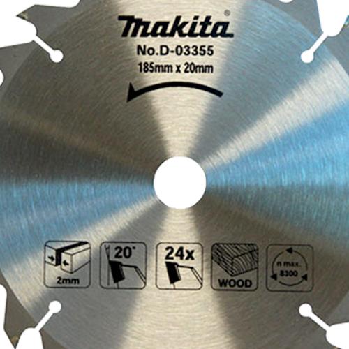 Disco de Serra Segmentado TCT D03355 - Makita  - COLAR