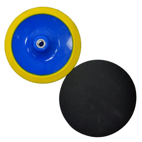 Suporte de Lixa com Velcro e Espuma 180mm - Colar  - COLAR