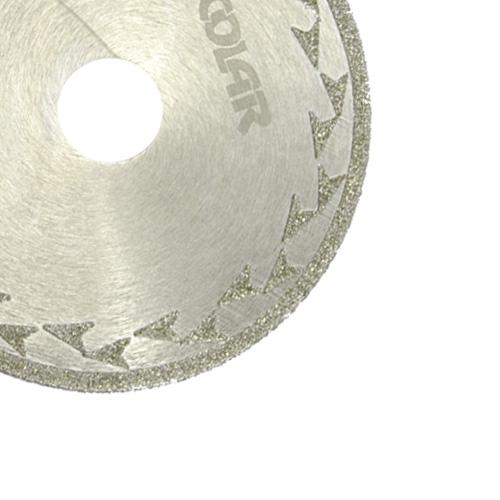 Disco de Corte Diamantado Eletrolítico 110 mm - Colar  - COLAR