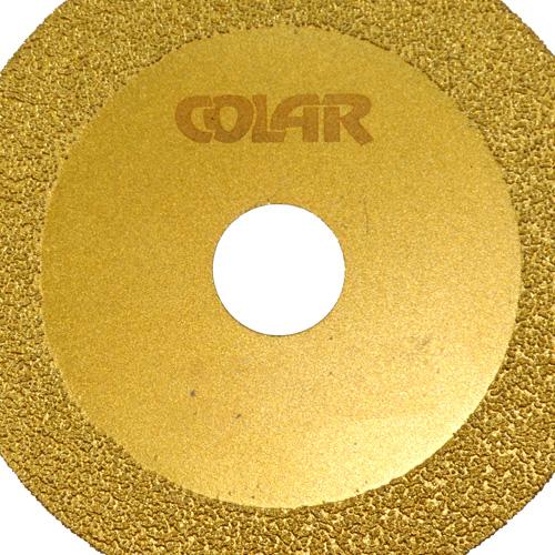 Disco de Corte Soldado a Vácuo 105 mm - Colar  - COLAR