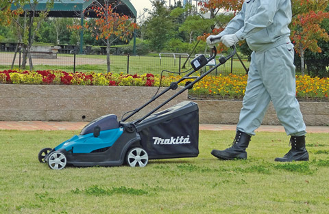 Cortador de grama à Bateria DLM431PM2 - Makita  - COLAR