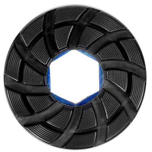 Disco Para Polimento de Borda Reta Poliborda Glossfire 125mm - Colar  - COLAR