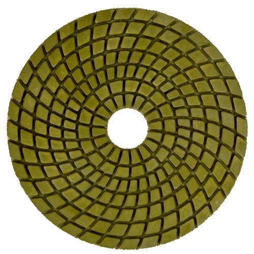 Disco de Polimento Flexível Para Mármores e Granitos Saint 100mm - Colar  - COLAR