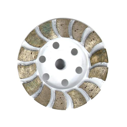 Rebolo diamantado DDD de 100mm a 150 mm / Grão 36 a 120  - COLAR