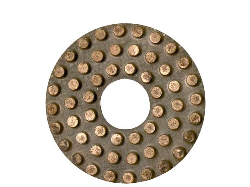 Disco de Polimento Diamantado com Pontas em Liga de Metal para Mármore, Granito e Pedras Naturais - Colar  - COLAR