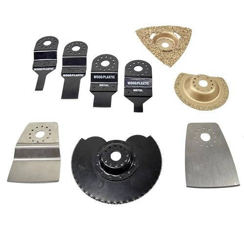 Multipler Kit Acessorios para Multiferramenta  - COLAR