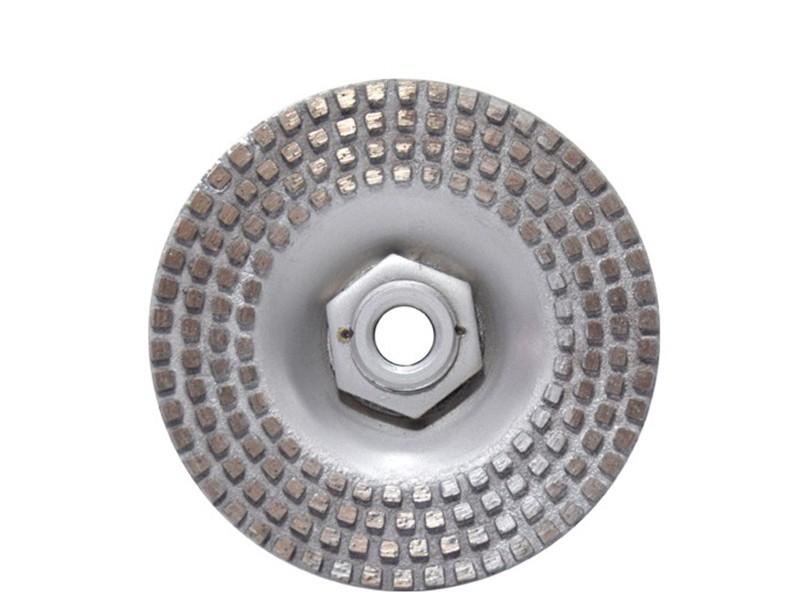 Rebolo DDD Para Pneumática M14 Grão 35/40  - COLAR