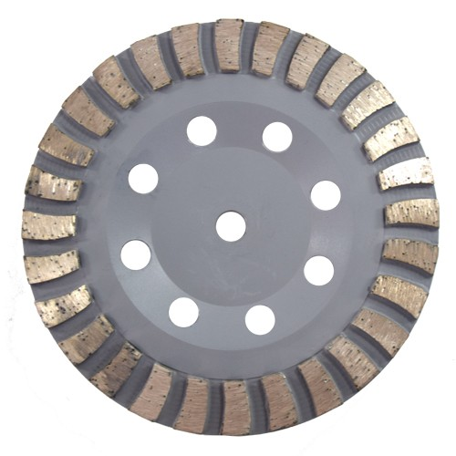 Rebolo Diamantado 175mm M14   - COLAR