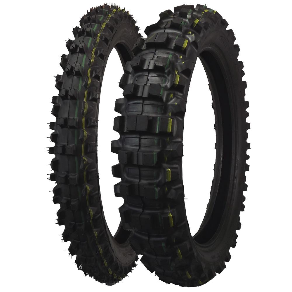 combo pneu dianteiro 300 21 traseiro 100 100 18 remold cross moto suzuki yamaha. Black Bedroom Furniture Sets. Home Design Ideas