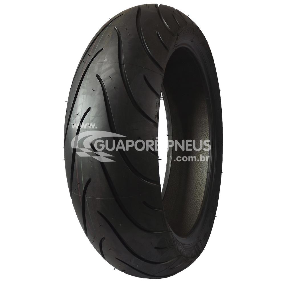 Pneu 180/55R17 Michelin Pilot Road 2 2CT 73W Moto Honda Cbr, Yamaha R1 (Traseiro)