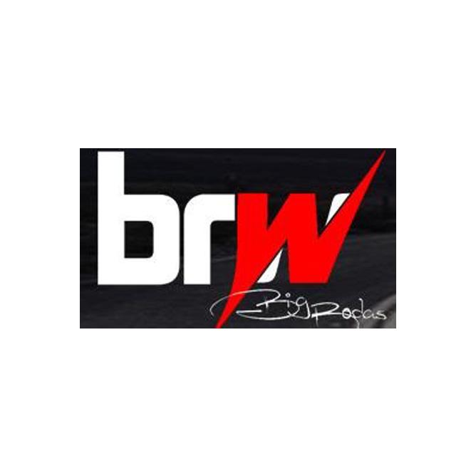 Jogo de 4 Rodas de Liga-Leve Aro 14 BRW-370 4x100 (Modelo Orbit Gomao Orbital)