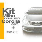 Kit Farol Milha Corolla 2008 2009 2010 2011 + Brinde