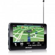 GPS Multilaser Tracker 2 GP014 com Tela TFT LCD 5� Touch Screen, Fun��o TTS, Alerta de Radares e TV
