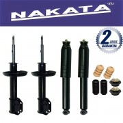 Jogo 04 Amortecedores Nakata Corsa Classic 2003 Até 2012 + Kit da Suspensão