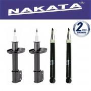 Jogo 04 Amortecedores Nakata Ford Courier 1997 Até 2014