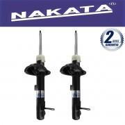 Par de Amortecedores Dianteiro Nakata Ford Focus Hatch e Sedan 2000 Até 2008