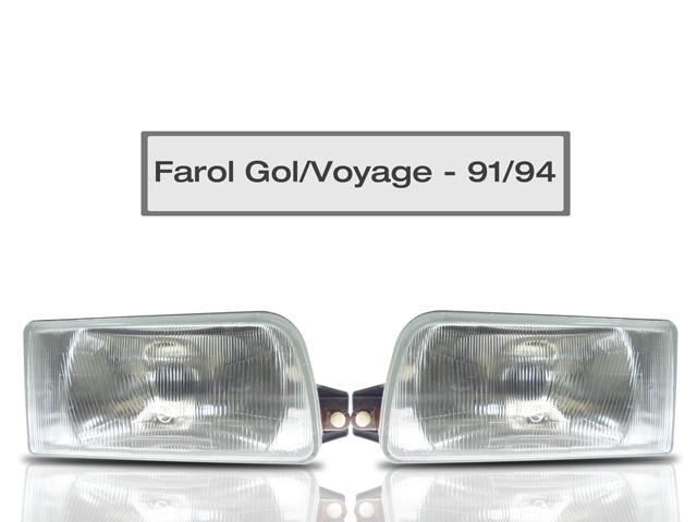 Farol Gol / Voyage / Saveiro / Parati - Ano 1991 Até 1995