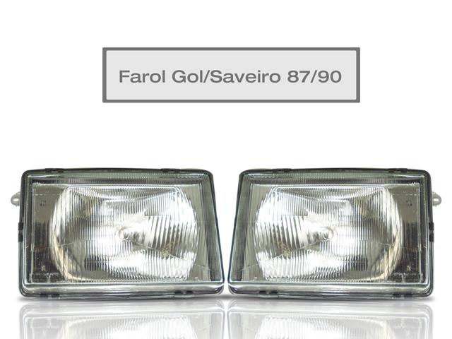 Farol Gol / Saveiro - Ano 1987 At� 1990