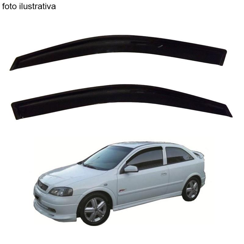 Calha de Chuva Defletor Fumê Astra Hatch 1999 até 2011 2 Portas