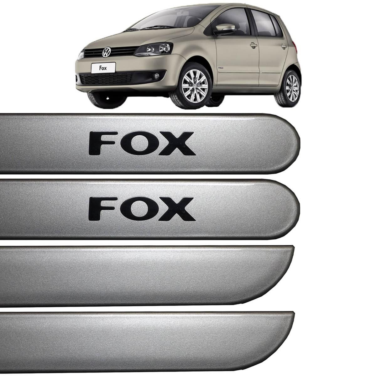 Jogo Friso Lateral Fox 04 Portas 2003 até 2016 Prata Egito