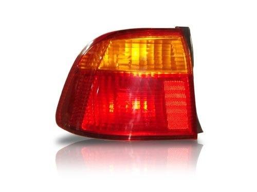 Lanterna Traseira Honda Civic Bicolor 99 00 Canto