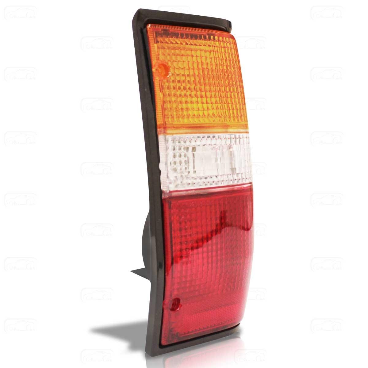 Lanterna Traseira Tricolor L200  94 Até 03 Moldura Preta