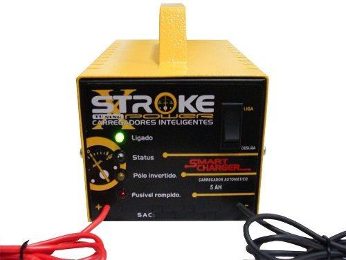 Carregador Bateria Inteligente/Flutuante 5ah 24v