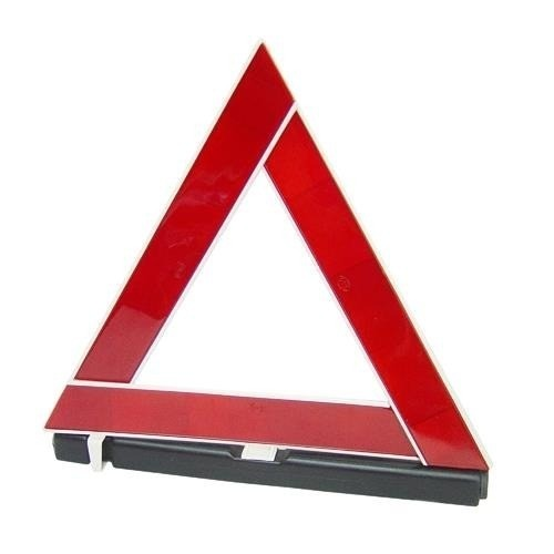 Triângulo De Segurança Base Pesada Automotivo Emergência