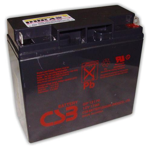 Bateria Stroke 17ah 12v Jet-sky Bicicleta Elétrica No-break
