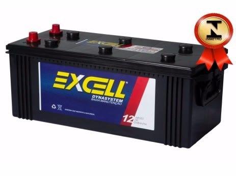 Bateria Automotiva Excell 180ah 12v - Modelo Scânia